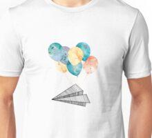 Fly Paper Plane! Unisex T-Shirt