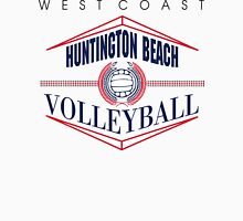 Huntington Beach California Volleyball Womens Fitted T-Shirt