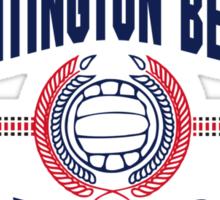 Huntington Beach California Volleyball Sticker
