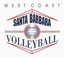 Santa Barbara California Volleyball by SportsT-Shirts