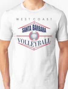 Santa Barbara California Volleyball T-Shirt