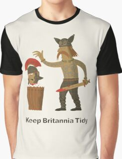 Keep Britannia Tidy Graphic T-Shirt