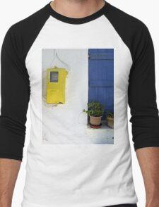 Electric Colours Men's Baseball ¾ T-Shirt