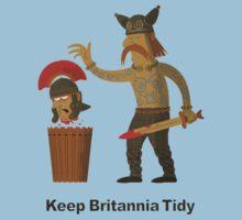 Keep Britannia Tidy One Piece - Short Sleeve