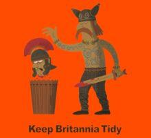 Keep Britannia Tidy Kids Tee