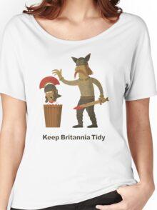 Keep Britannia Tidy Women's Relaxed Fit T-Shirt