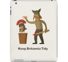 Keep Britannia Tidy iPad Case/Skin