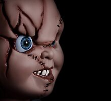 Chucky doll by Linda  Morrison