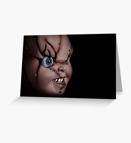 Chucky doll Greeting Card