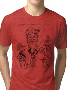 Bearded Barista of Balaclava Tri-blend T-Shirt