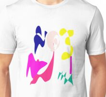 Cheerful Girl Unisex T-Shirt