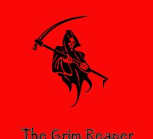 The Grim Reaper  by Catherine Hamilton-Veal  ©