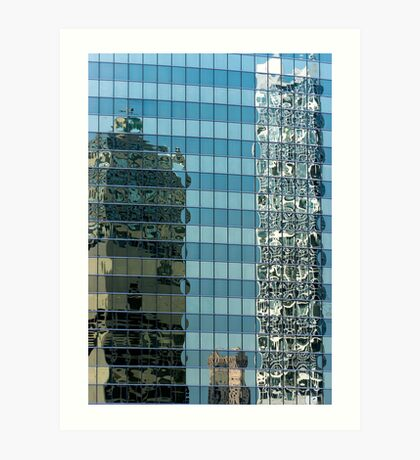 Chicago Reflections Art Print