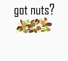 got nuts? (pile of nuts)  Womens Fitted T-Shirt