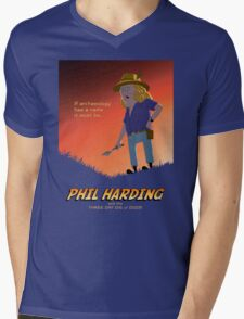 Phil Harding - Time Team Mens V-Neck T-Shirt