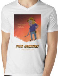 Phil Harding - Time Team Mens V-Neck T-Shirt