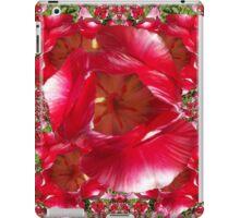Red tulip iPad Case/Skin
