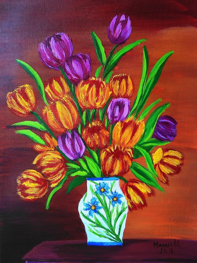 Valentine's bouquet by maggie326