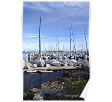 Monterey Harbor Poster