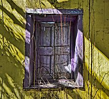 Purple Shutters... by Jeremy Lavender Photography
