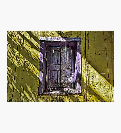 Purple Shutters... Photographic Print
