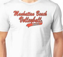 Manhatten Beach California Volleyball Unisex T-Shirt