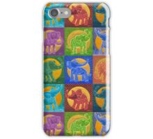 Sunny Elephants - life and force iPhone Case/Skin