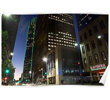 Bank of America, Dallas, TX Poster