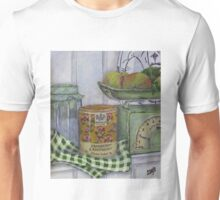 Scale and apples still life Unisex T-Shirt