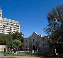 The Alamo, San Antonio, TX by Jessica Duley