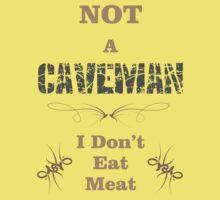 Not A Caveman Kids Tee