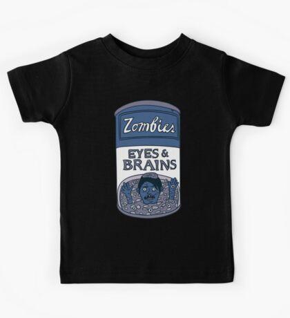 Zombies - Brains & Eyes Soup Kids Tee
