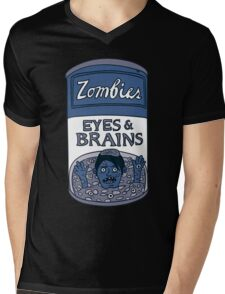Zombies - Brains & Eyes Soup Mens V-Neck T-Shirt