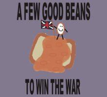 Beans Not War Kids Tee