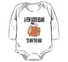 Beans Not War One Piece - Long Sleeve