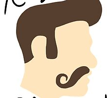 Keep Your Mustache Classy by Look Human