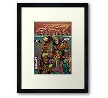 Capt'n Sully Roughseas [Art Comics] Framed Print