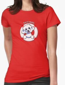 Bichon Frise :: First Mate T-Shirt