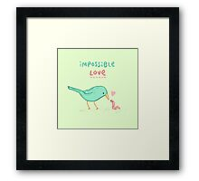 Impossible Love Framed Print