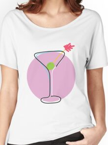 Martini Women's Relaxed Fit T-Shirt