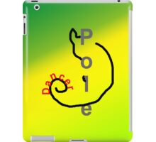 Pole Dancer Cat 2 iPad Case/Skin