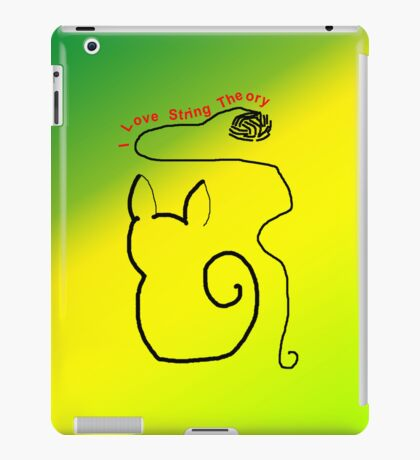 String Theory Cat 3 iPad Case/Skin
