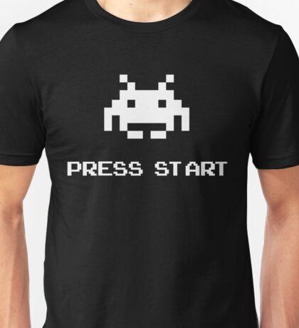 Press Start - 8 bit Unisex T-Shirt