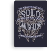 Solo Smuggling - Dark Canvas Print