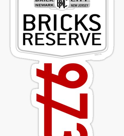 'Bricks Reserve' Sticker