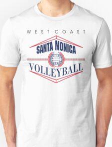 Santa Monica California Volleyball T-Shirt