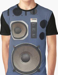 vintage hifi speaker front Graphic T-Shirt