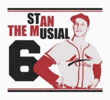 "Stan ""The Man"" Musial by oawan"
