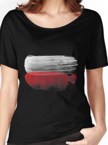 Poland Flag polska Women's Relaxed Fit T-Shirt