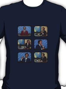 Anchorman - Ron Bergundy - TV Ron T-Shirt